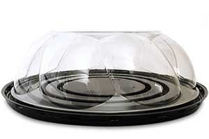 """Clear Plus Packaging, Item # 09-B / 2.75"""" Rose Dome"""